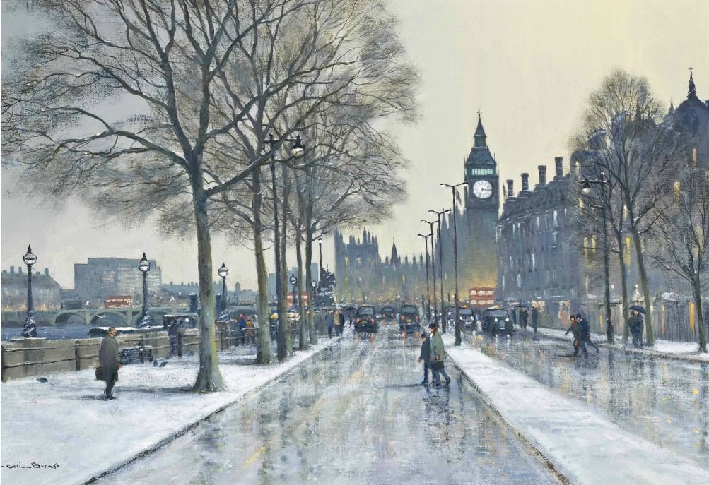 Victoria Embankment London By Colin W Burns B 1944 Justin West